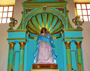 Statue of Lady of Loreto